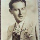 BEN LYON Original Facsimile Autograph PHOTO 1930's Hollywood Golden Era