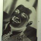 TONY MARTIN  Original 1960's Studio PHOTO Negative Headshot Autograph Facsimile