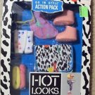 HOT LOOKS Mattel GO IN STYLE Action Pack DOLL Accessories MODEL Fashion MIB 1987