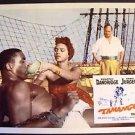 DOROTHY DANDRIDGE Original TAMANGO Lobby Card CURD JURGENS Blaxploitation 1958