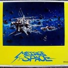MESSAGE FROM SPACE Sci-Fi LOBBY CARD Japanese STAR WARS Kinji Fukasaku JAPAN '78