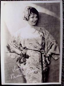 PRISCILLA DEAN original MAX FACTOR Studios HOLLYWOOD 1920's Facsimile PHOTO