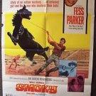 SMOKY Original FESS PARKER 1-Sheet POSTER Diana Hyland KATY JURADO Western HORSE