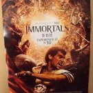IMMORTALS Original HENRY CAVILL Movie POSTER Stephen Dorff GLADIATOR Greek 2011