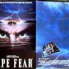 CAPE FEAR Japanese BOOK Robert De Niro JESSICA LANGE Nick Nolte SCORSESE JAPAN