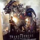 TRANSFORMERS: Age Of Extrinction MARK WAHLBERG Rolled MOVIE Poster HASRBO 2014