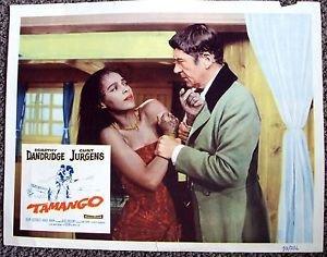 DOROTHY DANDRIDGE Original TAMANGO Lobby Card #2 Fight Scene Blaxploitation
