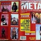 BON JOVI Poison NIKKI SIZZ Vince Neil FASTER PUSSYCAT Don Dokken POSTER Book