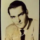 JOHN RUSSELL Original Facsimile Autograph PHOTO 40's LAWMAN Western Peter Brown