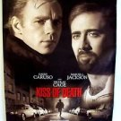 NICHOLAS CAGE David Caruso  KISS OF DEATH Original Movie Poster ROLLED Original