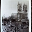 WESTMINSTER ABBEY Original PHOTO London 1967 England HALL OF KINGS Church UK
