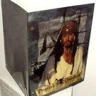 PIRATES OF THE CARIBBEAN School Folder JACK SPARROW Johnny Depp Portfolio 2003
