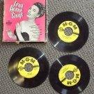 LENA HORNE SINGS 45 R.P.M. Photo BOX SET Record M.G.M. MGM LOEW'S Cole Porter