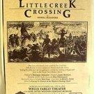 GENE AUTRY Western Heritage Museum LITTLE CREEK CROSSING Poster NEWELL ALEXANDER