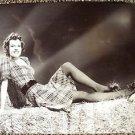 BETTY FIELD Sexy HAYSTACK Pose Hal Roach Original PHOTO Press snipe JANE RUSSELL