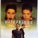 WILD THINGS Original POSTER Matt Dillon DENISE RICHARDS Kevin Bacon Erotic SEXY