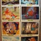 ROBIN HOOD Walt Disney PHOTO Color LOBBY CARD Set Animation CARDS 1973 LOBBIES