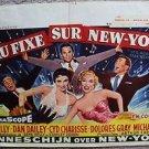 IT'S ALWAYS FAIR WEATHER Movie BELGIUM Poster GENE KELLY Cyd Charisse BRUSSELS