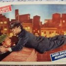 Hard Boiled Mahoney LEO GORCEY The BOWERY BOYS Lobby Card MONOGRAM PICTURES 1947