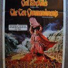 TEN COMMANDMENTS 1-Sheet Movie POSTER Cecil B. de Mille CHARLTON HESTON Original