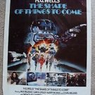 H.G. WELLS' The SHAPE OF THINGS TO COME 1-Sheet POSTER Barry Morse CAROL LYNLEY