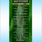 Man of Honor Bookmarker