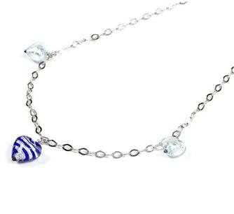 MADE IN ITALY STERLING SILVER 925 CHAIN WITH HEART PENDANT
