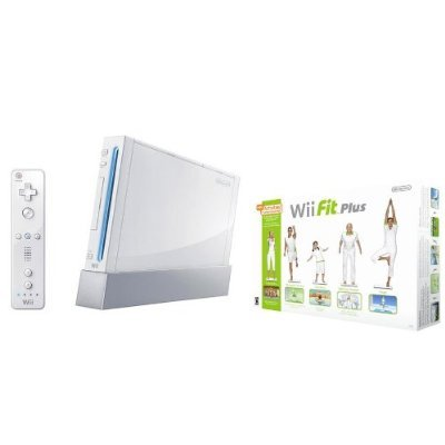 Nintendo Wii Fit Plus Bundle with Console and Balance Board