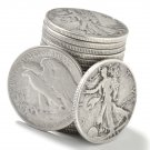 Walking Liberty Silver Half Dollar Coin Roll