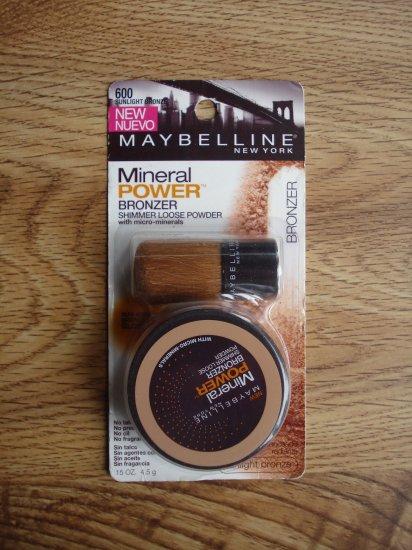 Maybelline Mineral Power Bronzer - Sunlight Bronze