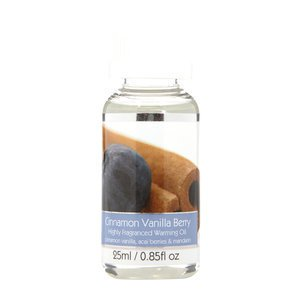 Elegant Expressions Fragrance Cinnamon Vanilla Berry Hot Oil Burner .85 fl oz