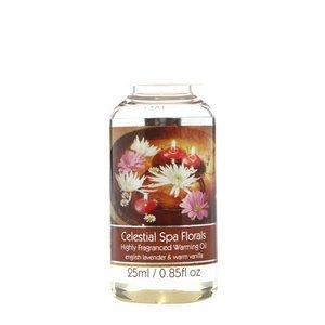Elegant Expressions Fragrance Celestial Spa Florals Hot Oil Burner .85 fl oz