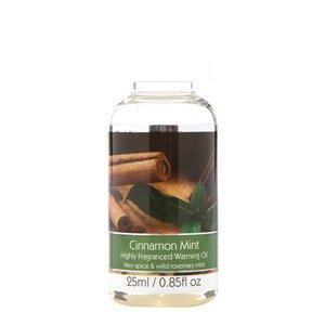 Elegant Expressions Fragrance Cinnamon Mint Hot Oil Burner .85 fl oz 25 ml