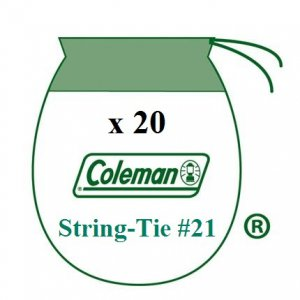 20 Coleman Liquid Fuel Lantern 21 Sock Style String Tie Mantles 5-4 Pack 21A104