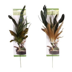 NEW Floracraft Spray Feather Pick Accent for Vases and Floral Flower Creations