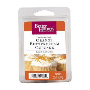 Better Homes Garden Orange Buttercream Cupcake Fragrance Scented Wax Melt Cubes