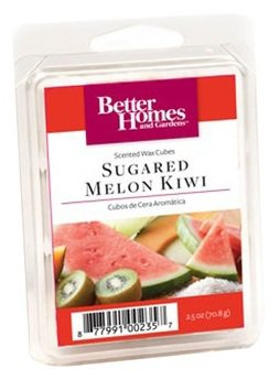 Better Homes Gardens Sugared Melon Kiwi Fragrance Scented Wax Melt Cubes Burners