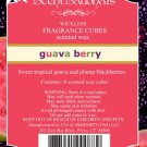 ScentSationals Guava Berry Home Fragrance Scented Wax Melt Cubes for Burners