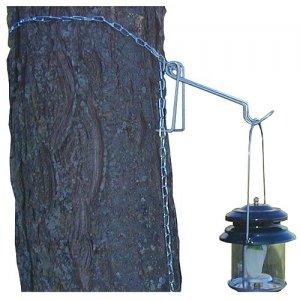 NEW Coleman Metal Tree Post Lantern Hanger Camping Hands Free Lighting