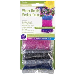 Floracraft Dehydrated Water Gems Beads Floral Arts Craft Pink Blue Purple 3 pack