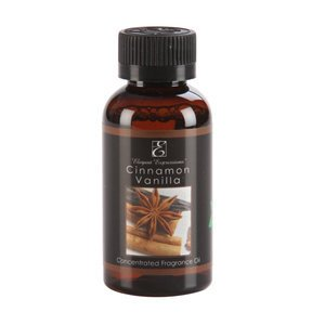 Elegant Expressions Fragrance Cinnamon Vanilla Potpourri Hot Oil Burner 2 oz
