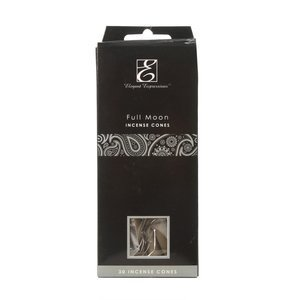 NEW Elegant Expressions by Hosley Fragrance Full Moon Incense Cones 30 Piece
