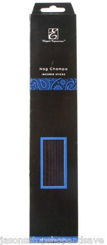 NEW Elegant Expressions by Hosley Fragrance Nag Champa Incense Sticks 30 Piece