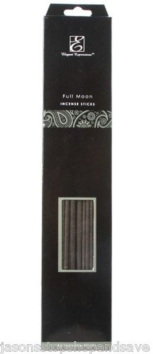 NEW Elegant Expressions by Hosley Fragrance Full Moon Incense Sticks 30 Piece