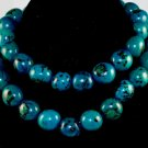 Handmade Turquoise Beaded Single Strang Necklace