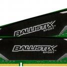 Crucial Ballistix Sport 4GB DDR3-1600 - BLS4G3D1609DS1S00