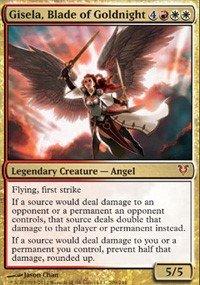 Magic The Gathering - Avacyn Restored - 209 - Gisela, Blade of Goldnight - FOIL