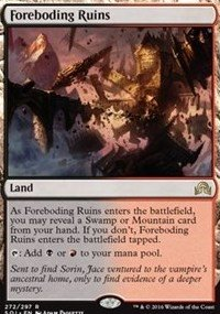 Magic The Gathering - Shadows Over Innistrad - 272 - Foreboding Ruins