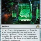 Magic The Gathering - Shadows Over Innistrad - 252 - Brain in a Jar - FOIL