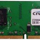 Crucial Technology / Hynix 2GB DDR2-800 PC2-6400 - CT25664AA800.Y16FY